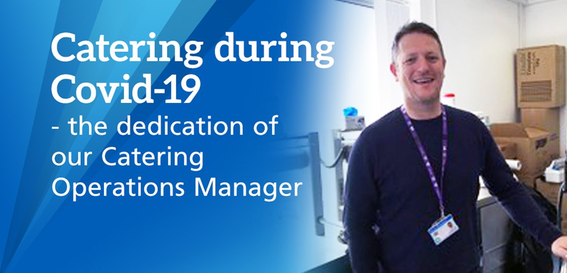 Iain Robertson Catering Operations Manager